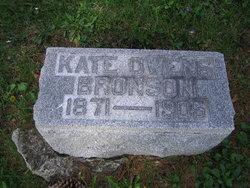 Kate <i>Owens</i> Bronson