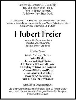 Hubert Freier
