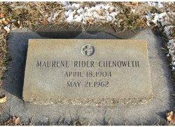 Maurene <i>Rider</i> Chenoweth