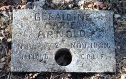 Geraldine Marie <i>Schoonover</i> Arnold