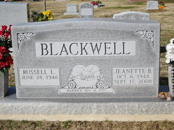 Jeanette Lorraine <i>Brewer</i> Blackwell