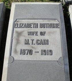 Elizabeth <i>Buthune</i> Cain