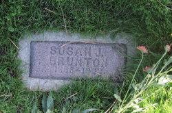 Susan Jane <i>Reed</i> Brunton