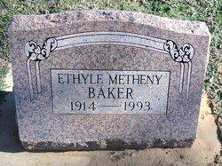 Ethyle <i>Metheny</i> Baker
