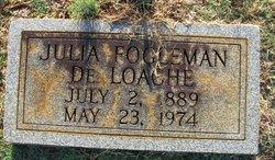 Julia Lee <i>Fogleman</i> DeLoache