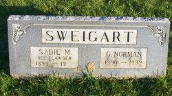 Sadie M <i>Clawser</i> Sweigart