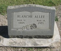 Mary Blanche <i>Matthews</i> Allee