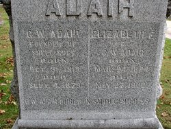 Elizabeth Ellen <i>Smith</i> Adair