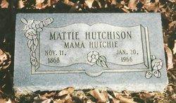 Mattie Gabriann <i>Abbott</i> Hutchison