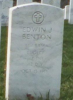 Bugler Edwin J Benton