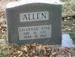 Savannah <i>Ring</i> Allen