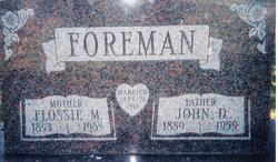 Flossie Mae <i>Kurtz</i> Foreman