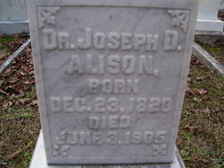 Dr Joseph Dill Alison