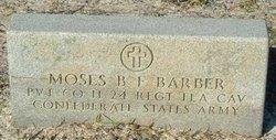 Moses B. F. Barber