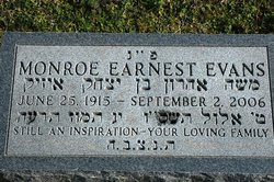 Monroe Emanuel Evans