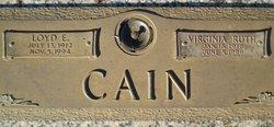 Loyd Eckless Cain
