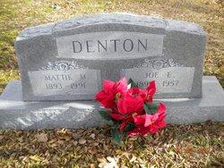 Mattie Maud <i>Felkner</i> Denton