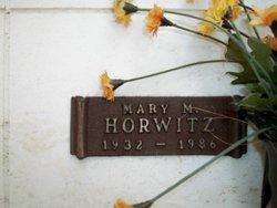 Mary M Horwitz