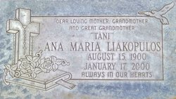 Ana Maria Tani <i>Ontiveros</i> Liakopulos