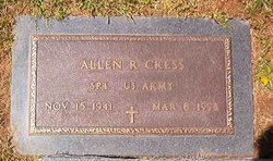 Allen R <i>Shupe</i> Cress