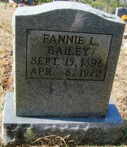 Fannie L Bailey