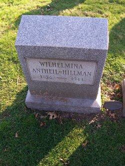 Wilhemina <i>Antheil</i> Hillman