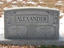 Erna W Alexander