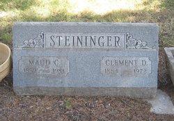 Maud Cecil <i>Skaggs</i> Steininger