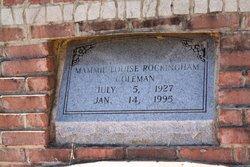 Mamie Louise <i>Rockingham</i> Coleman