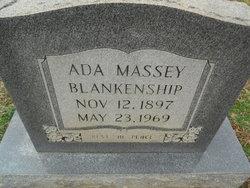 Ada <i>Massey</i> Blankenship