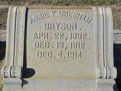 Annie K <i>Gresham</i> Bryson