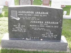 Johanna <i>Isaac</i> Abraham