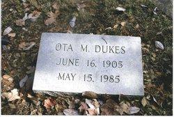 Ota M. Otie <i>McConnell</i> Dukes