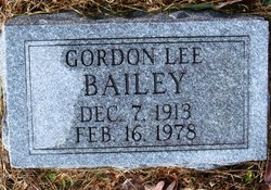 Gordon Lee Bailey