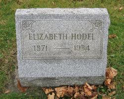 Elizabeth Lizzie <i>Kappler</i> Hodel