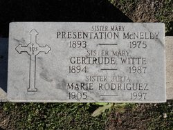 Sr Mary Gertrude Witte