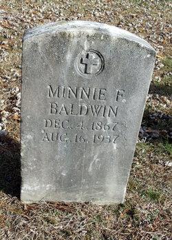 Minnie F. <i>Josselyn</i> Baldwin