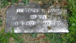 Florence M. <i>Bennett</i> Davis