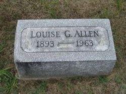 Louise Gertrude <i>Morgan</i> Allen