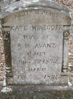 Kate <i>Winecoff</i> Avent/Avant