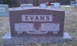 Marion M Evans