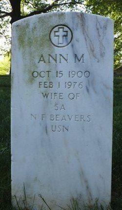 Ann M Beavers