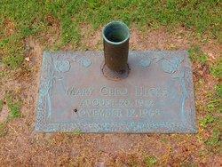 Mary Cleo <i>Eller</i> Hicks