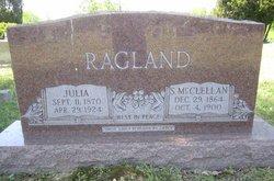 Julia <i>Daugherty</i> Ragland