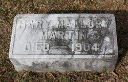 Mary <i>Mallory</i> Martin