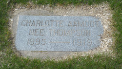 Charlotte <i>Thompson</i> Aamodt