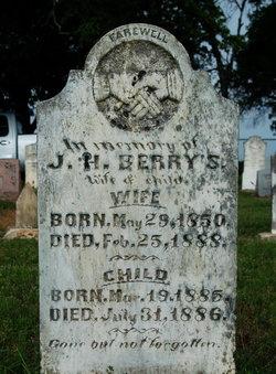 Mrs J H - Mary Paralee <i>Cameron</i> Berry