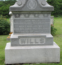 Mary <i>Rick</i> Wills