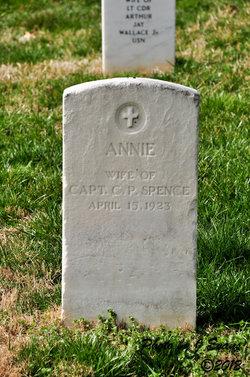 Annie M <i>Slentz</i> Spence
