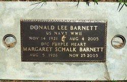 Margaret Anne Meg <i>Schalk</i> Barnett